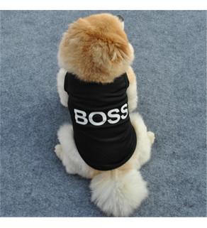 Lehké tričko BOSS černá