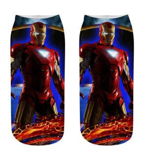 Komiksové ponožky Marvel bílá 18 - 20 cm