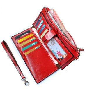 Praktická dámská peněženka Červená