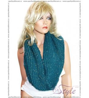 Hřejivá pletená šála