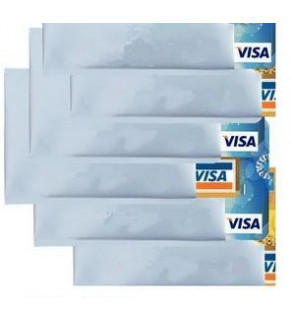 Ochranné pouzdro na kreditní karty a doklady šedá