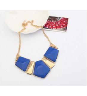 Módní náhrdelník pro ženy geometrického tvaru