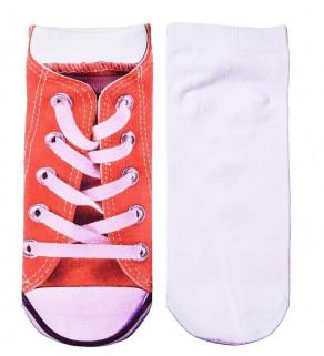 Ponožky Halloween Červená, bílá