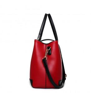 Dámská kabelka ČervenoČerná