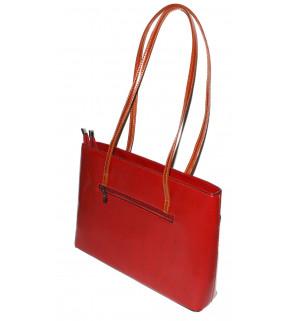 Dámská kabelka přes rameno Červená