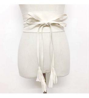 Pásek z textilní kůže