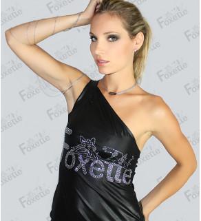 Dámské mini šaty PU