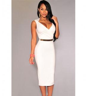 Dlouhé dámské  šaty