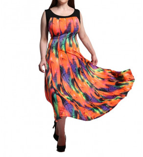 Letní dlouhé šaty
