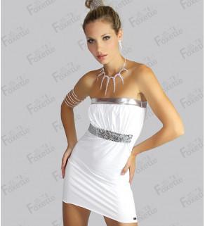 Dámské šaty s flitrem
