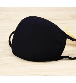 Bavlněné roušky s potiskem černá
