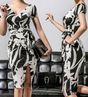 Dámské šaty ČernoBílé