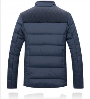 Pánská zimní bunda Modrá