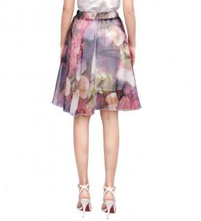 Lehoučká šifonová sukně