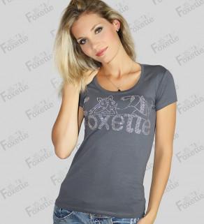 Bavlněné Tričko Foxette