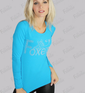 Tričko Foxette s dlouhým...