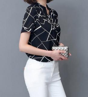 Šifónová dámská košile