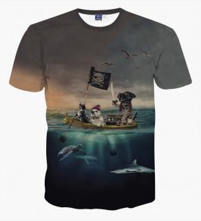 Pánské tričko s motivem -...