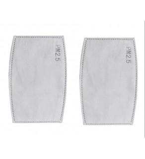 Bavlněný respirátor + 2x PM 2.5 filtry