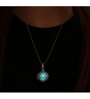 Fosforeskující náhrdelník 50 cm