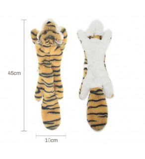 Neplněná interaktivní pískací hračka 45 x 10 cm