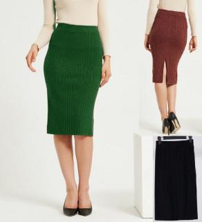 Dámská úpletová sukně