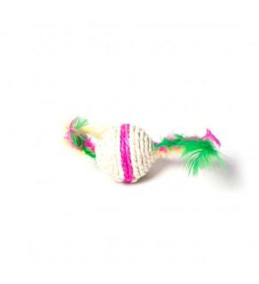 Interaktivní hračka s peřím pro kočky