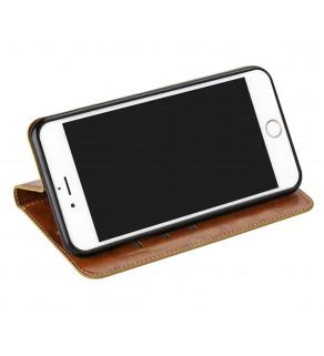 Kožené flipové pouzdro pro Samsung Galaxy S5