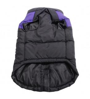 Kvalitní zimní prošívaná vesta se zapínáním na zip