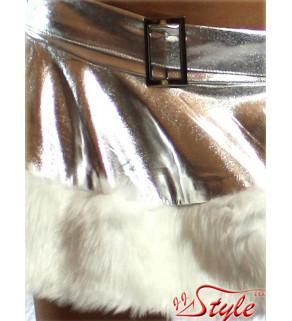 Santa kostým Stříbrný